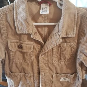 Gap brand toddler corduroy jacket.